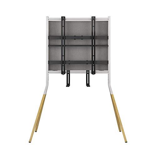 One For All Falcon Universal TV-stativ – skärmstorlek 32–70 tum– LCD/LED/plasma/OLED/QLED TV-apparater – VESA 400 x 400 – integrerad universell soundbarhållare – elegant design – WM7482