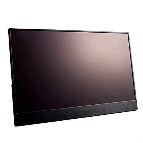 Moligh doll Moniteur Portable 15,6 Pouces IPS 1080P Type-C à éCran de Contact pour PS4 Switch Raspberry Pi Macbook