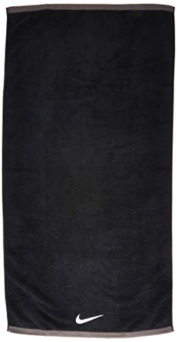 Nike FUNDAMENTAL Towel Medium Black/White