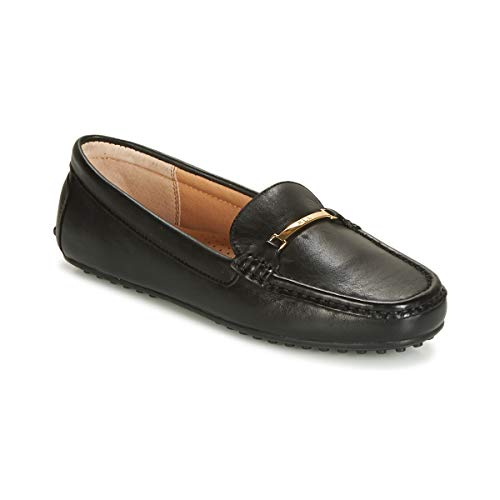Lauren Ralph Lauren Briony Loafers & Boat Shoes Women Black - 5.0 - Loafers Shoes