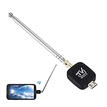 heaven2017 Mini Micro USB HDTV Receiver Android Cell Phone Tablet DVB-T & ISDB-T Input Digital Mobile TV Tuner