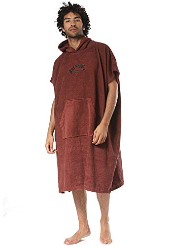 Billabong™ Hooded Poncho - Poncho for Men - Poncho mit Kapuze - Männer - U - Rot