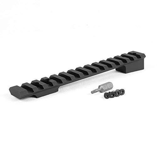 EGW HD Savage Model 99 Picatinny Rail 0 MOA (Factory Drilled and Tapped Models Only) 80350 Includes Vibra-Tite Thread Locker, Torx Bit & Screws