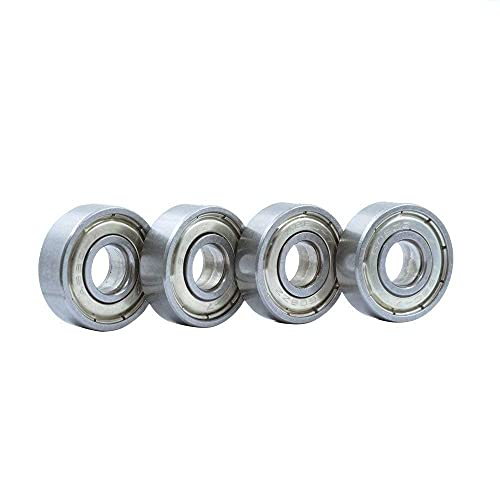 Durable 5pcs Shielded Miniature High-Carbon Steel Single Row 608ZZ ABEC-7 Deep Groove Ball Bearing 8 22 7 8x22x7mm 608 ZZ Ball Bearing 3D Printer Parts