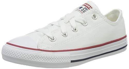 Converse Converse - - Jugend Chuck Taylor OX Allstar Schuhe, EUR: 28, White Optic