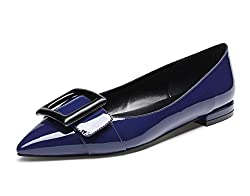 Rubber sole,pointed-toe,normal shoe width Classic pointed-toe ballet pumps with 0.6 inch or 1.5 CM heels Classic flats,sexy and comfortable design,excellent workmanship Elegant closed toe designed,omfortable and sexy to wear,show your charms Castamer...