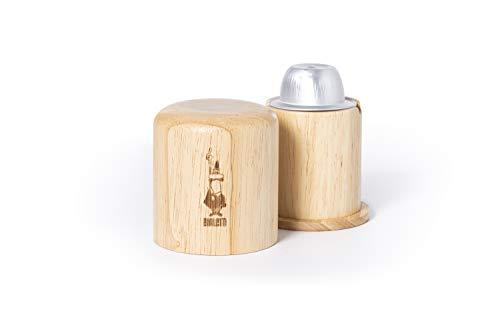 Bialetti Ouvre-capsule, compatible avec capsules Bialetti en aluminium (séparateur de capsules en bois)