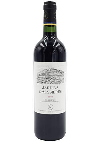Domaines Barons de Rothschild Lafite Jardin's D'Aussières Jahrgang 2018 Rotwein Languedoc (Rebsorten: Syrah, Grenache, Mourvèdre, Carignan) 0,75L (Jahrgang 2018 (6 x 0,75l in Holzkiste))