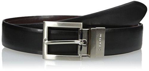 Calvin Klein Women's Reversible Belt, Black, Large