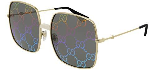 Gucci GG0414S 003 Endura Gold/Ivory GG0414S Square Sunglasses Lens Category 3, 60-17-140