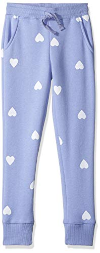 Amazon Essentials Girl's Fleece Jogger, Purple Heart 3T