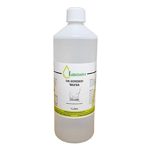 Agua desmineralizada / desionizada puro