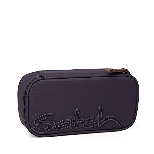 satch Schlamperbox - Mäppchen groß, Trennfach, Geodreieck - Nordic Grey - Grau