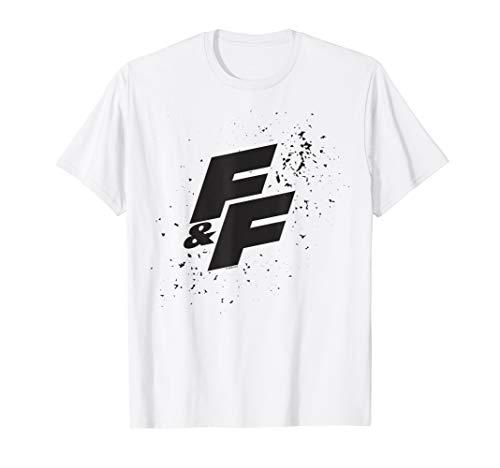 Fast & Furious Paint Splatter Bold Logo T-Shirt