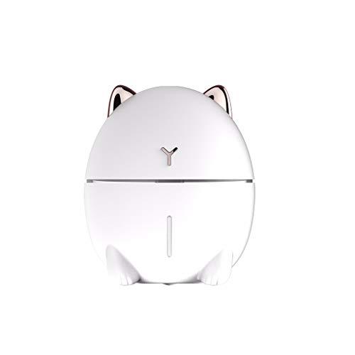 Gaddrt Luftbefeuchter Humidifier Süße Katze Mini USB Smart Silent Luftbefeuchter 200 ML