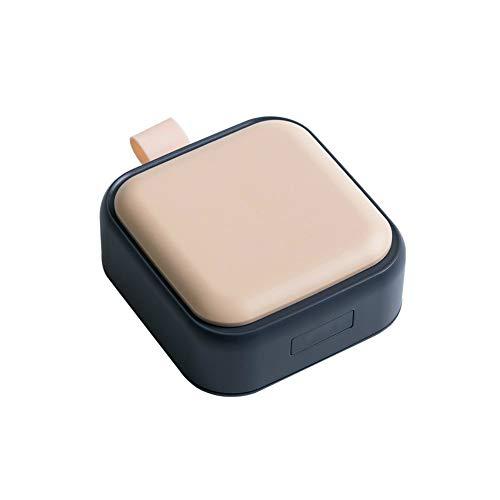 MSNLY Selbst entworfene Pillendose und Medikamenten-Unterverpackungsbox Morgen-, Mittel- und Abend-Unterverpackungsbox Tragbare tragbare Box Kleine Pillendose