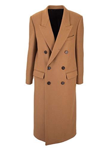 Céline Luxury Fashion Damen 2M225758E02CM Braun Kaschmir Mantel | Herbst Winter 19
