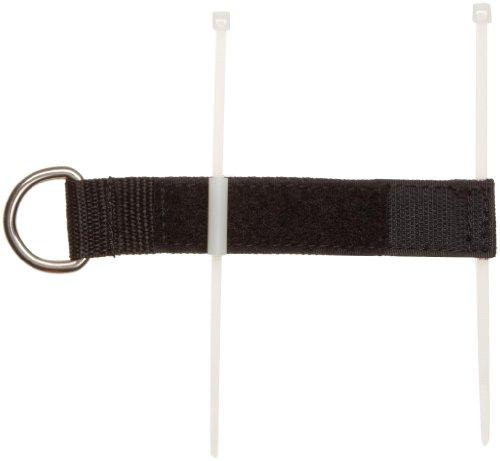 Maddak Wear Ease Black Shoe Fastener Kit (Bag of 2) (738170000)