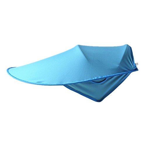 Domybest - Funda universal para cochecito de bebé, toldo para cochecito de bebé, visera para el sol azul azul