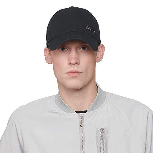 CACUSS Sombrero de Golf Deportivo Estilo Gorro de béisbol Estructurado con Cierre de Hebilla Ajustable para Deportes de Vela para Hombres (B0091_Gris Negro)