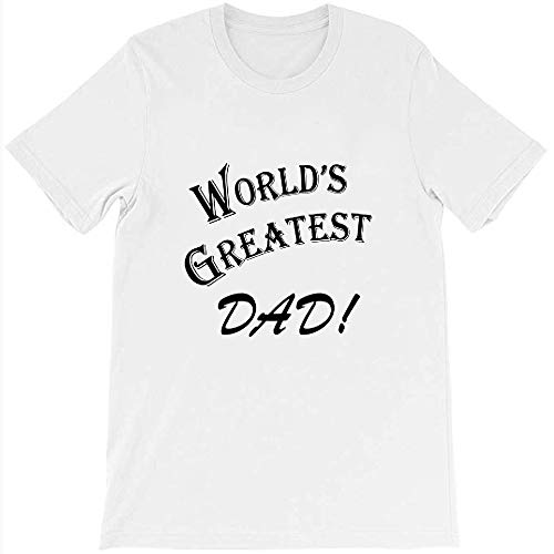 Marble LLC Seinfeld World's Greatest Dad Comedy Show TV Graphic Gift for Men Women Girls Unisex T-Shirt (White-M)