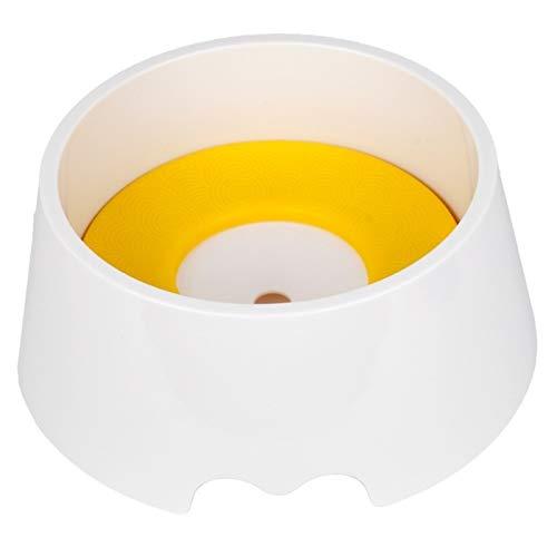 LRL Ciotole per Animali Domestici Pet Bere Bowl - Pet Bluting Water Bowl Non Bagnato Bocca Bocca Splash-Proof Splash Acqua Bere Bowl Bere Bereer No-Ship No-Skid (Color : Yellow)