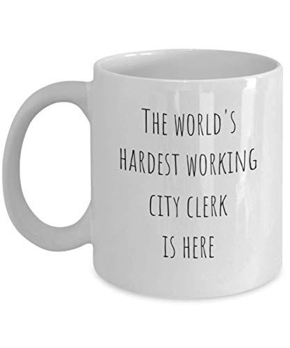 Grappig De meest hardste werkende stadsschrijver ter wereld Beste Gig-geschenkidee voor de wet Data Input Post School Advocaat Advocaat Student Advocaat Laatste lange magnetron servies