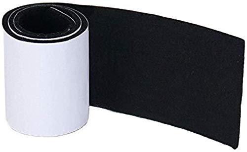 Heavy Duty Filzstreifen Rolle - DIY selbstklebende Möbel Pad, Bodenschutz, fühlte sich Stuhlpolster, 39,37 '' x 3,93 '', dunkelgrau