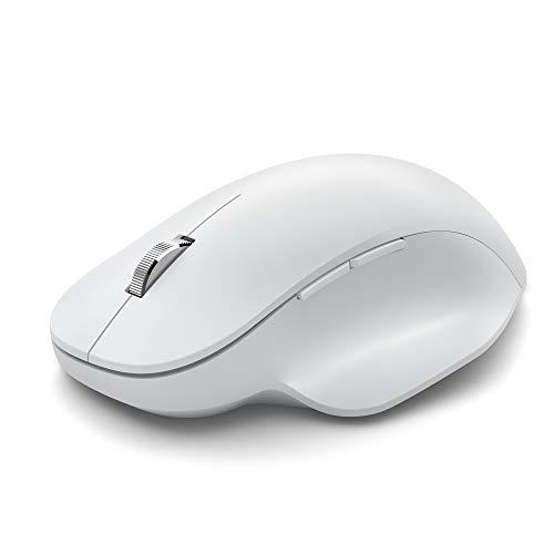 Microsoft Needle Hill Mouse Bluetooth Ergonomico, Bianco