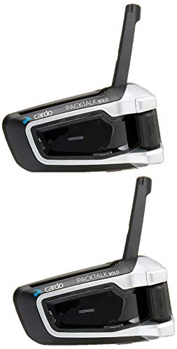 Cardo scala rider PACKTALK BOLD With Natural Voice Motorcycle Communication and Entertainment System, Connect 2 to 15 Riders (Dual Pack