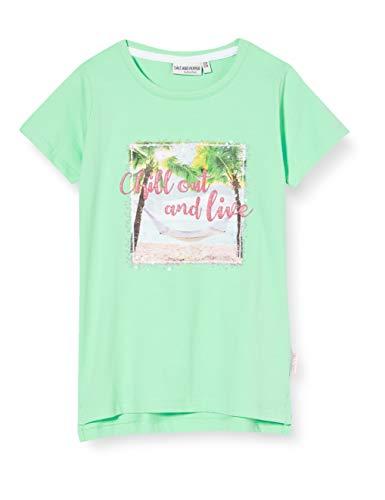 Salt & Pepper Mädchen 03112280 T-Shirt, Grün (Apple Green 643), 116 (Herstellergröße: 116/122)