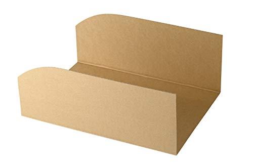 Recambios de hojas para ahorrar espacio para cajas de zapatos. Diseño italiano-italiano. Para modelo 35 x 25 x 15 cm. 10 unidades por paquete. 100 % fabricado en Italia, 100 % reciclable.