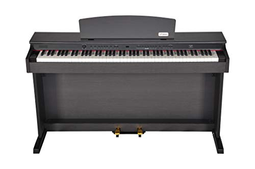 Artesia DP-2 Series 88-Weighted Keys Traditional Console Digital Piano w/Matching Bench, Dark Rosewood