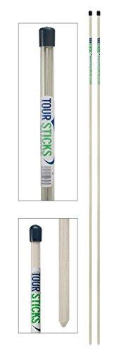 Tour Sticks TS314W Golf Alignment Stick (White)