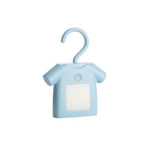 Balvi Light T-Shirt Blauw Klem met USB kabel Kunststof ABS/PS