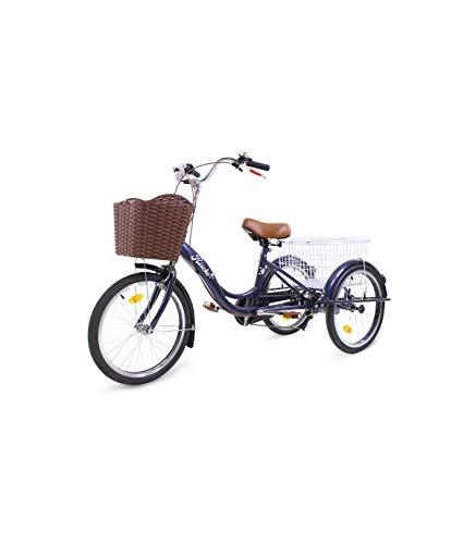 Eje para rueda trasera para triciclo bep-14 Riscko