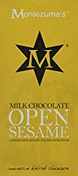 Milk Chocolate with Caramelised Sesame and Sunflower Seeds The caramelised sesame and sunflower seeds sit comfortably in Peruvian milk chocolate to bring about a wonderful texture and flavour Innovative British Chocolate, Made by Montezuma's Chocolat...