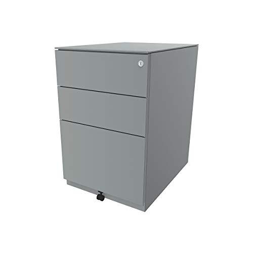 BISLEY Note ™ à roulettes – Métal – Chariot | conteneurs | Bureau – Container – nwa52 m1ssf – 355 Argent | B de Marchandises