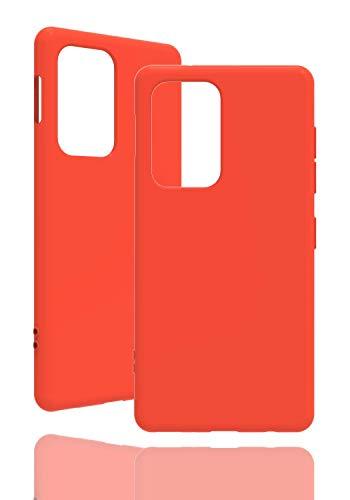 Inv Funda de silicona para Samsung Galaxy S20 Ultra, color naranja