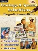 Festtags- & Spezialschriften - Sammelbox 3