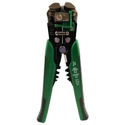 ZKAIAI Pelacables automáticos 0,2-6 mm Herramientas manuales de Corte Ajustables Stripper, Mantenimiento eléctrico Que Prensa de liberación Operación de Precisión (Color : D3 Green)