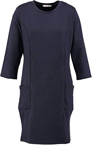 Geisha blauwe trui jurk 3/4 mouwen