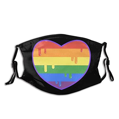 Mascarilla Gay Pride para adultos reutilizable pasamontañas a prueba...