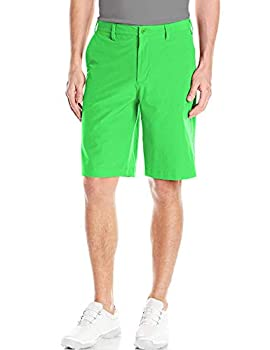Lesmart Men Pro Golf Shorts Lightweight Stretch Relaxed Fit Summer Quick Dry Classic Fit 34 Green
