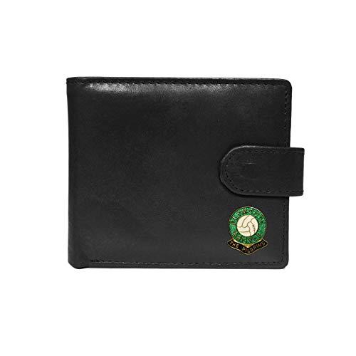 Plymouth Argyle Football Club Black Leather Wallet
