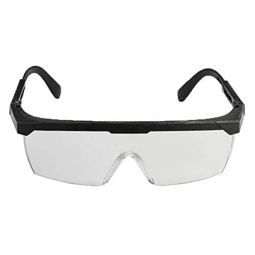 FRGTHYJ Brille Antibeschlag Windschutzbrille Fahrradschutzbrille Schutzbrille Outdoor Indoor Sportbrille Schwarze Brille für Frauen