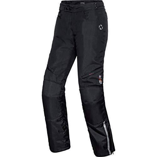 DXR Pantalones de Motocicleta Tour Textilhose 5.0 Schwarz M, Caballeros, Tourer, Todo el año, Negro Mate