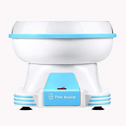 TINE Maker Cotton Candy Floss Mode Mini Cotton Candy Machine Dragédière Cotton Candy Bricolage Électrique pour Les Enfants, Cadeau Créatif, Les Enfants Cadeaux,Bleu