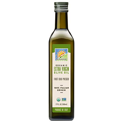 hb oils center olive oils Bionaturae Olive Oil Extra Virgin   Organic Olive Oil   Non-GMO   USDA Certified Organic   Made In Italy   100% Authentic Italian Olive Oil   17 fl oz (500 ml)