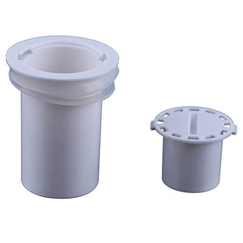 LJSLYJ Sink Sewer Doppelschicht Drain Kern Drainline Geruchsverschluss Kitchen Zubehör,Deodorant Bodenablauf mit Anti Rückstaufunktion